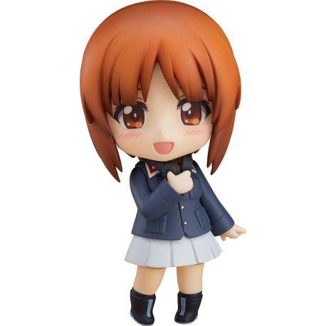 Girls und Panzer das Finale figurine Nendoroid Miho Nishizumi Jacket & Peacoat Ver. 10 cm