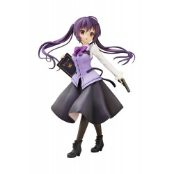 Is the Order a Rabbit statuette PVC 1/7 Rize (Cafe Style) 23 cm