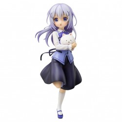Is the Order a Rabbit statuette PVC 1/7 Chino (Cafe Style) 21 cm