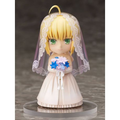 Fate/ Stay Night statuette PVC Chara Forme Saber 10th Anniversary Royal Dress Version 10 cm