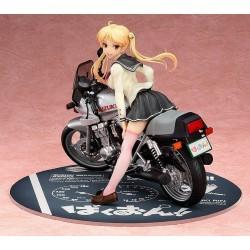 Bakuon!! statuette 1/10 Rin Suzunoki & GSX400S Katana 14 cm