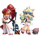 Tengen Toppa Gurren Lagann pack statuettes PVC Yoko & Nia Boota PSG Arrange Ver. 10 cm
