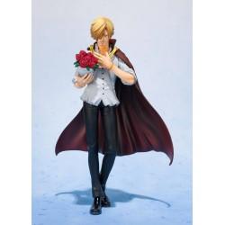 One Piece statuette PVC FiguartsZERO Sanji Whole Cake Island Ver. Tamashii Web Exclusive 17 cm