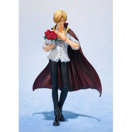 One Piece statuette PVC FiguartsZERO Sanji Whole Cake Island Ver. Tamashii Web Exclusive 17 cm