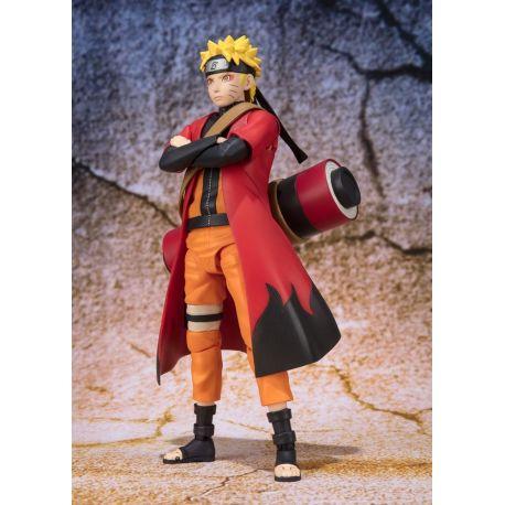 Naruto figurine S.H. Figuarts Naruto Uzumaki Sage Mode Advanced Ver. Tamashii Web Exclusive 14 cm