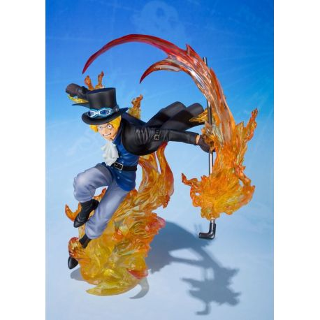 One Piece statuette PVC FiguartsZERO Sabo Fire Fist 19 cm