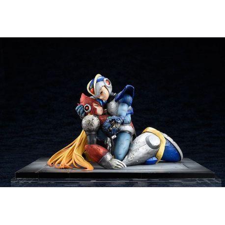 Mega Man X statuette PVC 1/7 X & Zero 15 cm