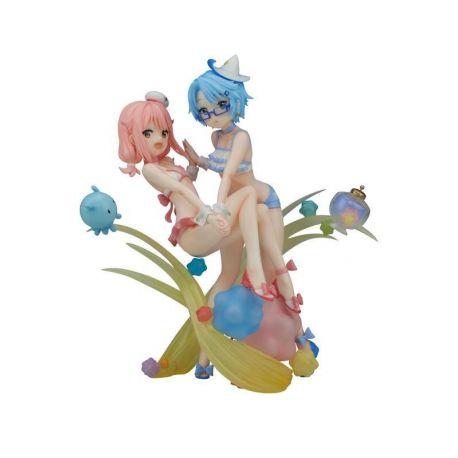 Wish Upon the Pleiades statuette PVC Subaru & Aoi Swimwear Ver. 21 cm
