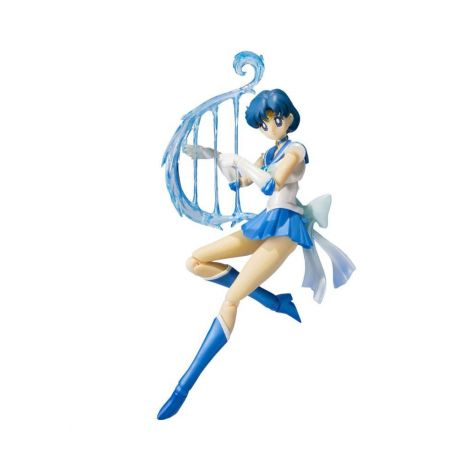 Sailor Moon SuperS figurine S.H. Figuarts Sailor Mercury (S4) Tamashii Web Exclusive 14 cm