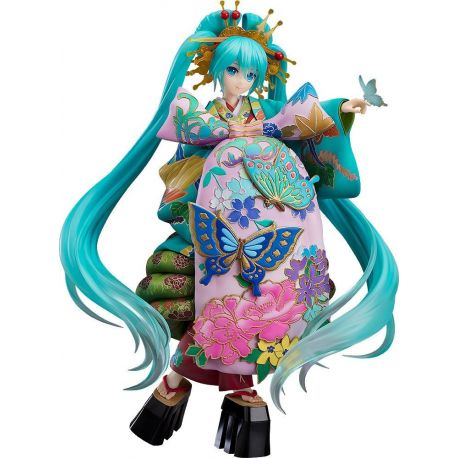 Character Vocal Series 01 statuette 1/7 Hatsune Miku Chokabuki Kuruwa Kotoba Awase Kagami Ver. 30 cm