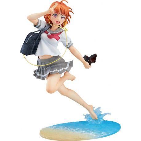 Love Live! Sunshine!! statuette 1/8 Chika Takami Blu-ray Jacket Ver. 21 cm
