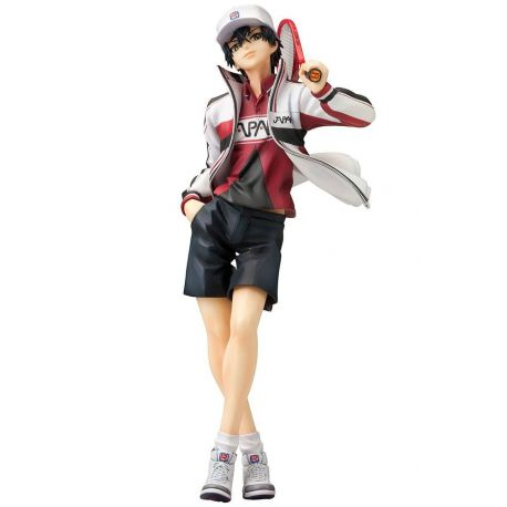 Prince of Tennis II statuette PVC ARTFXJ 1/8 Ryoma Echizen Renewal Package Ver. 21 cm