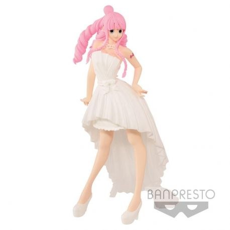 One Piece figurine Lady Edge Wedding Perona Normal Color Ver. 22 cm