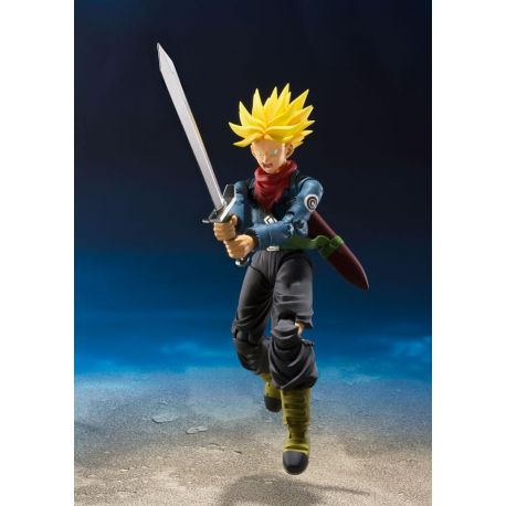 Dragonball Super figurine S.H. Figuarts Trunks Tamashii Web Exclusive 14 cm