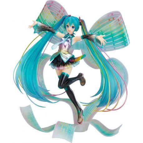 Character Vocal Series 01 statuette 1/8 Hatsune Miku 10th Anniversary Ver. Memorial Box 27 cm