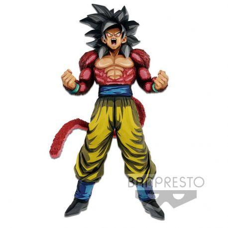 Dragonball GT statuette PVC Master Stars Piece Super Saiyan 4 Son Goku Manga Dimensions 33 cm