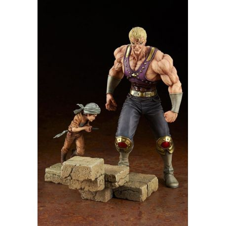 Fist of the North Star statuette PVC 1/8 Holy Emperor Souther-sama & Turban Kid 23 cm