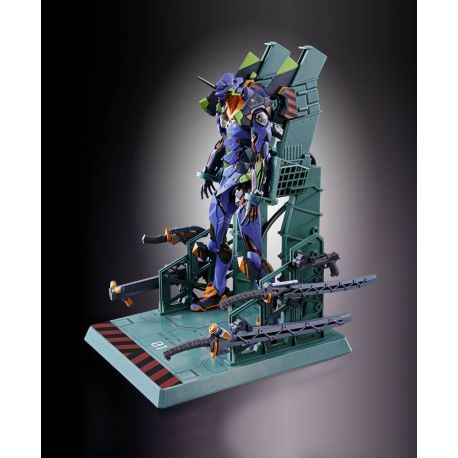 Neon Genesis Evangelion figurine Diecast Metal Build EVA-01 Test Type 22 cm
