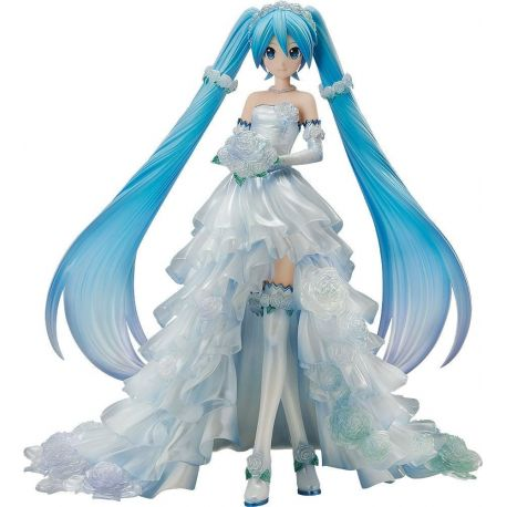Character Vocal Series 01 statuette 1/7 Hatsune Miku Wedding Dress Ver. 25 cm