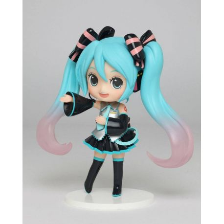 Vocaloid statuette PVC Miku Hatsune Doll Crystal (Game-prize) 14 cm