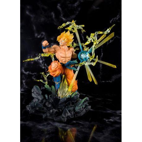 Dragonball Z statuette PVC FiguartsZERO Super Saiyan Son Goku Tamashii Web Exclusive 20 cm