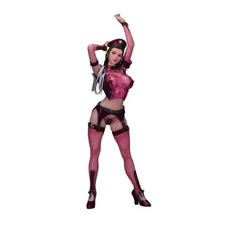 Original Character statuette 1/5 Sophia Zkebevitch Nylon Cosplay Ver. Maroon Color 40 cm