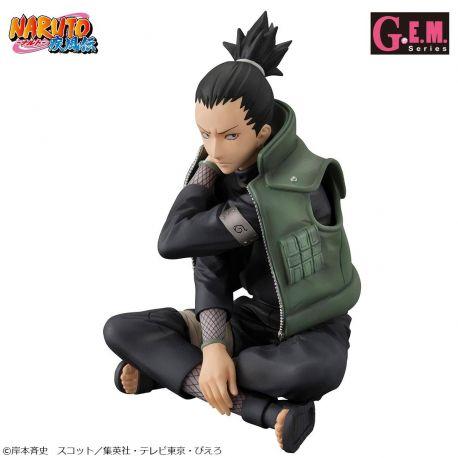 Naruto Shippuden statuette PVC G.E.M. 1/8 Shikamaru Nara 15 cm