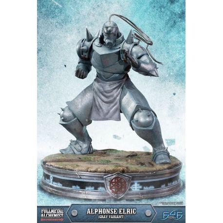 Fullmetal Alchemist Brotherhood statuette Alphonse Elric Gray Variant 55 cm