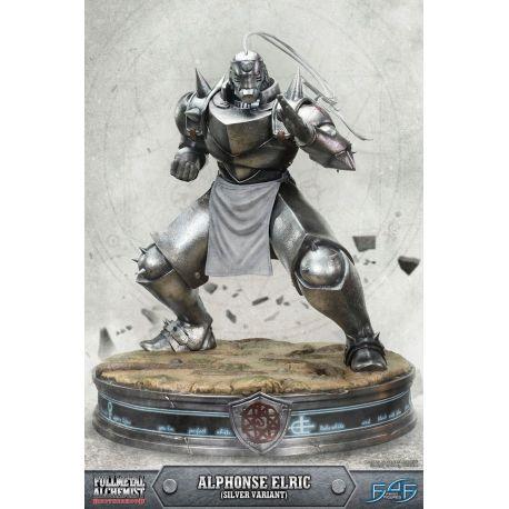 Fullmetal Alchemist Brotherhood statuette Alphonse Elric Silver Variant 55 cm