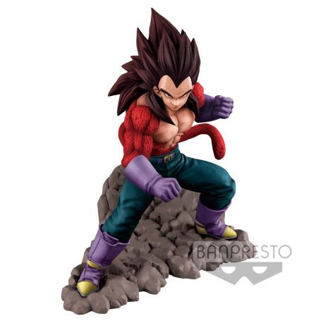 Dragonball GT figurine Super Saiyan 4 Vegeta 16 cm
