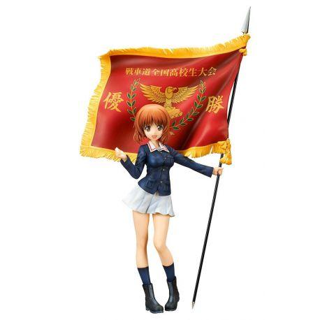 Girls und Panzer der Film statuette PVC Miho Nishizumi Winning Flag Ver. 22 cm