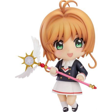 Cardcaptor Sakura Clear Card figurine Nendoroid Sakura Tomoeda Junior High Uniform Ver. 10 cm