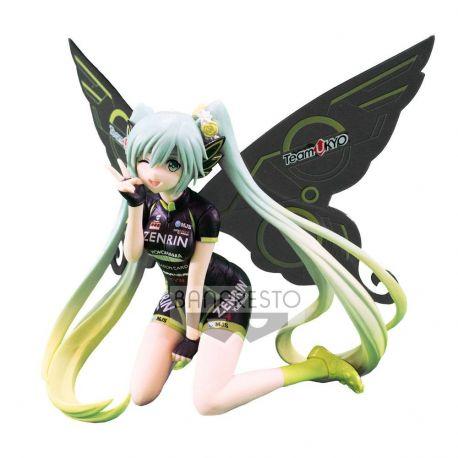 Racing Miku statuette PVC SQ Hatsune Miku 2017 Team UKYO Cheering Ver. 13 cm