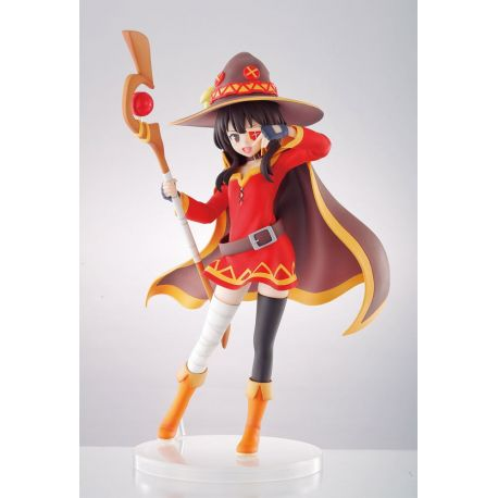 Kono Subarashii Sekai ni Shukufuku o! statuette PVC Ichibansho Megumin Genius Witch Ver. 18 cm