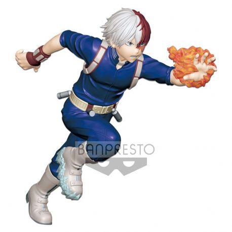 My Hero Academia statuette PVC Enter The Hero Shoto Todoroki 15 cm