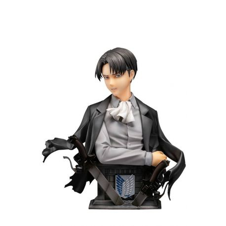 L'Attaque des Titans statuette 1/3 Levi Up Figure Color Ver. 25 cm