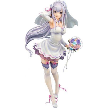 Re:ZERO Starting Life in Another World statuette PVC 1/7 Emilia Wedding Ver. 25 cm