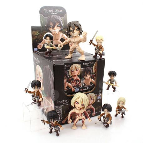 Attack on Titan Wave 1 présentoir figurines 8 cm (12)
